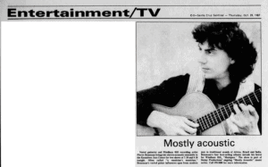 Steiny Productions, Mostly Acoustic, Pierre Bensusan
